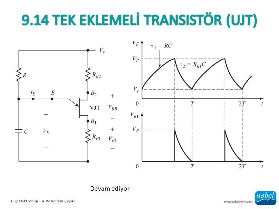 9.14 Tek EkLEMELİ Transistör (Ujt)