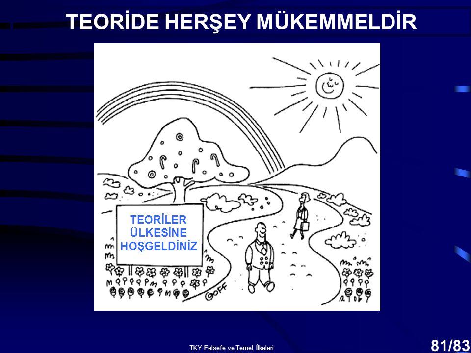 TEORİDE HERŞEY MÜKEMMELDİR