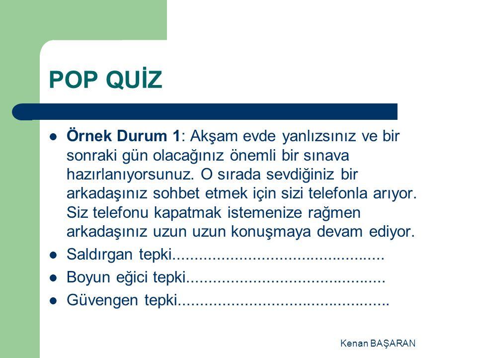 POP QUİZ