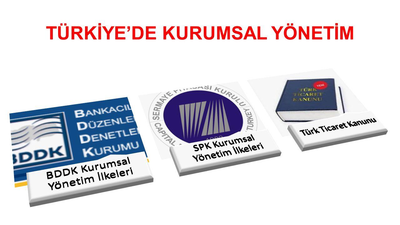 TÜRKİYE'DE KURUMSAL YÖNETİM