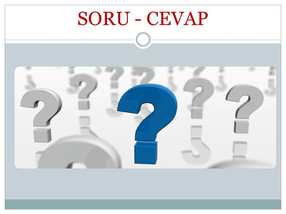 SORU - CEVAP