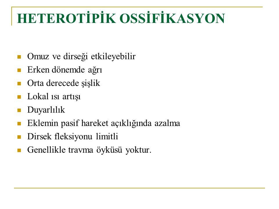 HETEROTİPİK OSSİFİKASYON
