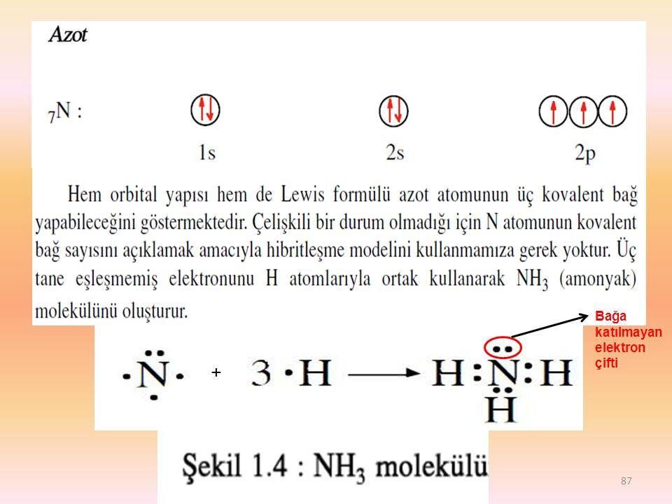 Bağa katılmayan elektron çifti