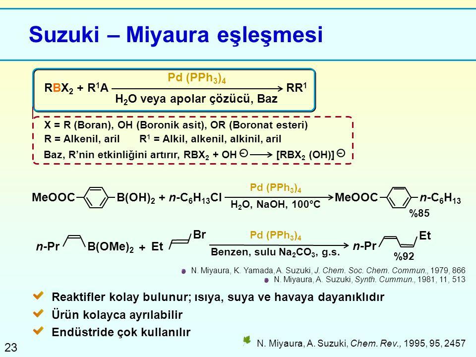 Suzuki – Miyaura eşleşmesi