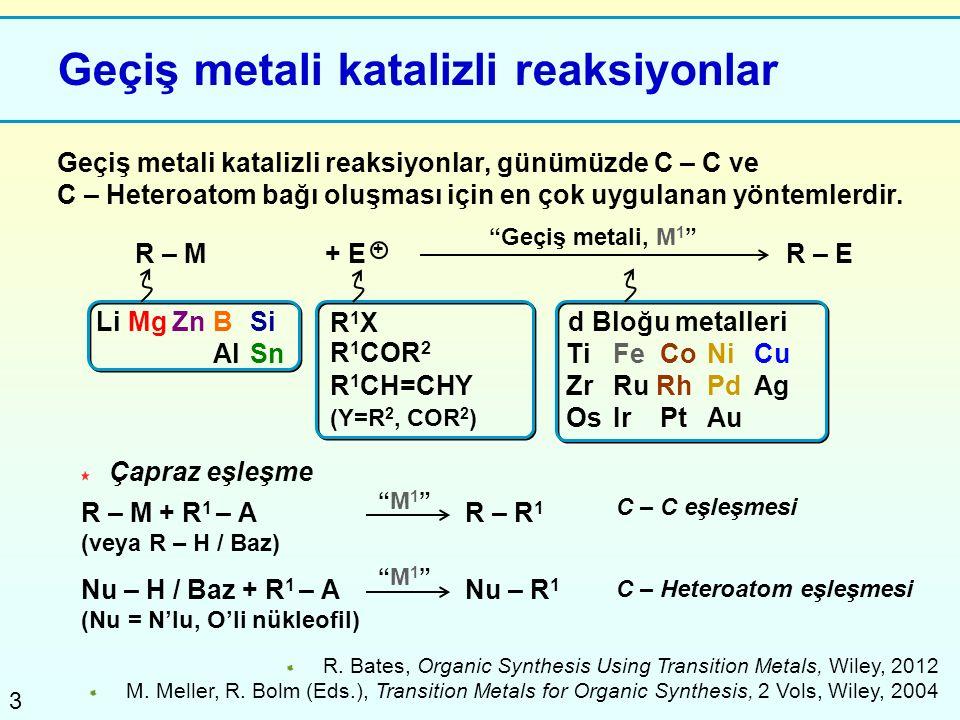 Geçiş metali katalizli reaksiyonlar