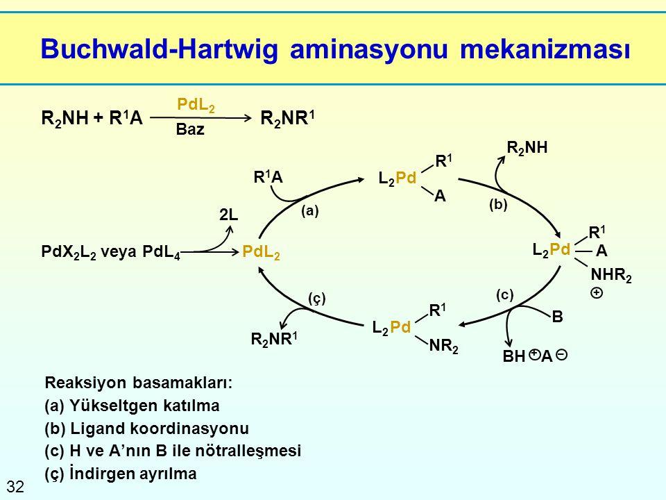 Buchwald-Hartwig aminasyonu mekanizması