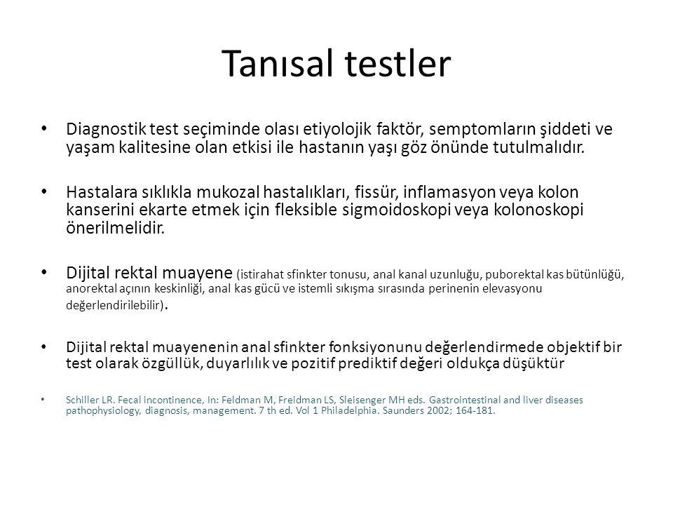 Tanısal testler