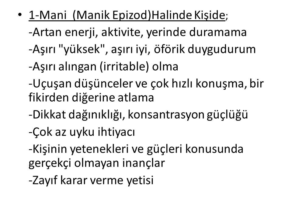 1-Mani (Manik Epizod)Halinde Kişide;