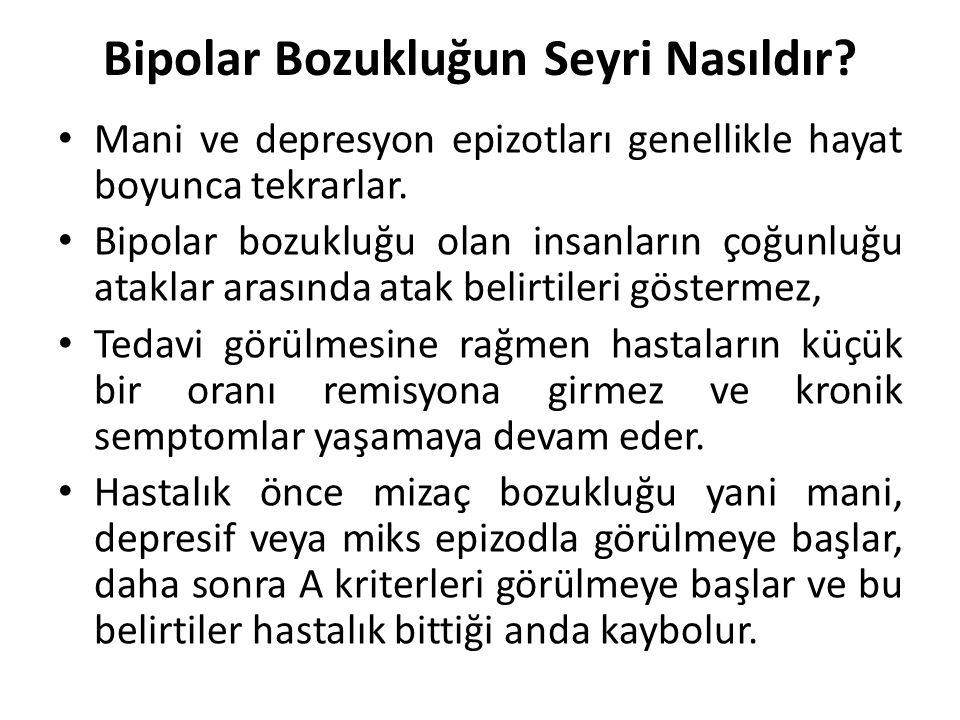 Bipolar Bozukluğun Seyri Nasıldır