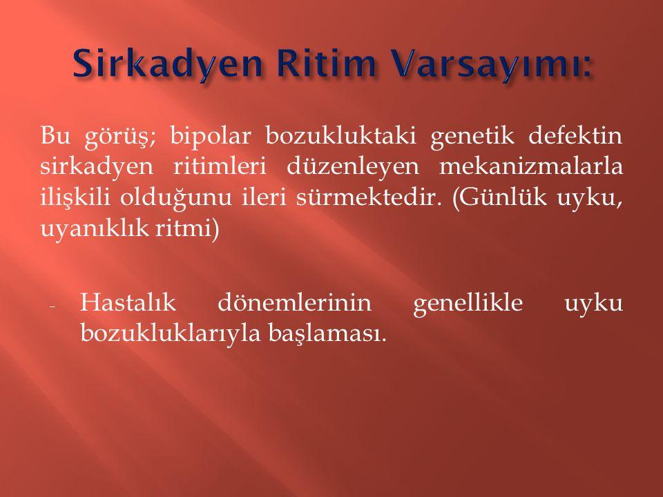 Sirkadyen Ritim Varsayımı: