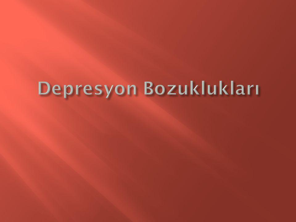 Depresyon Bozuklukları