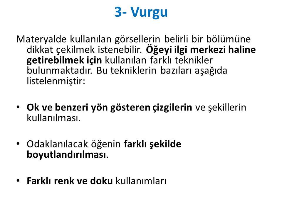 3- Vurgu