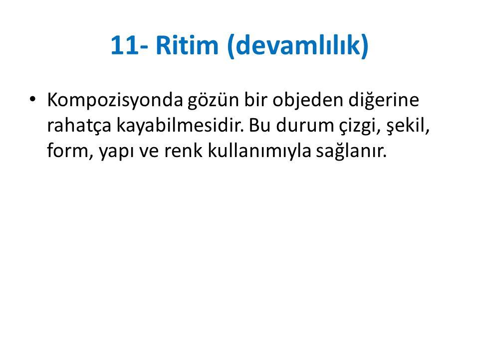 11- Ritim (devamlılık)