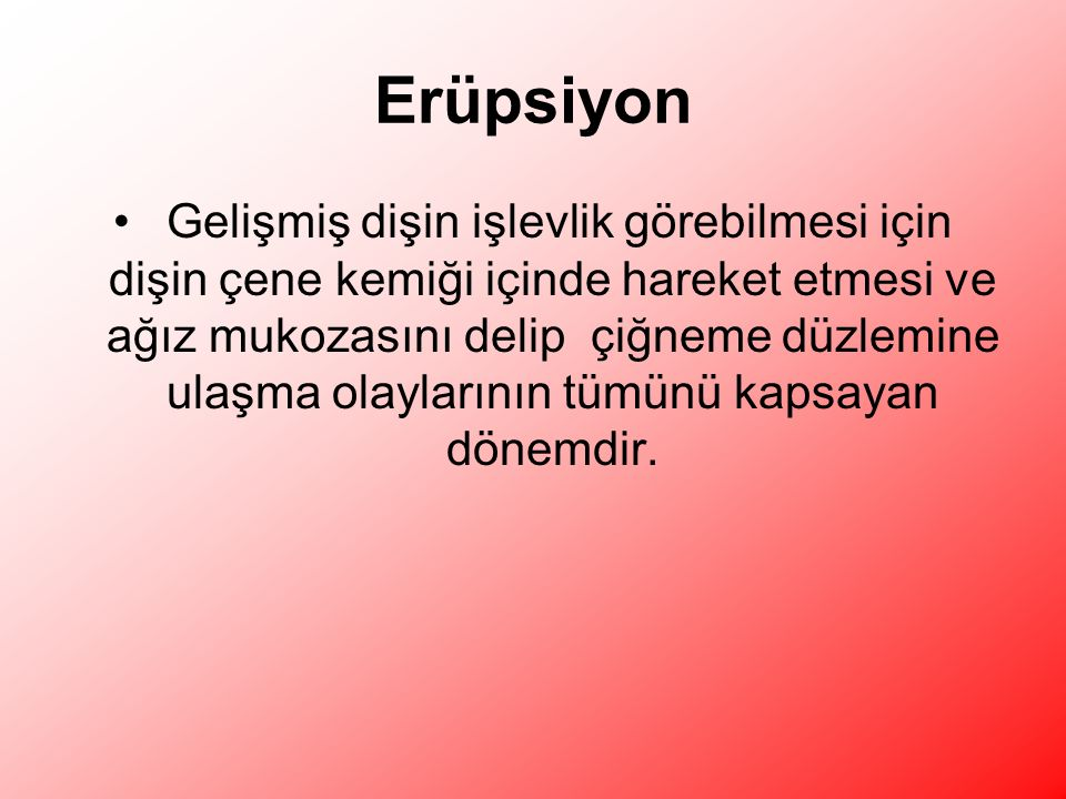 Erüpsiyon
