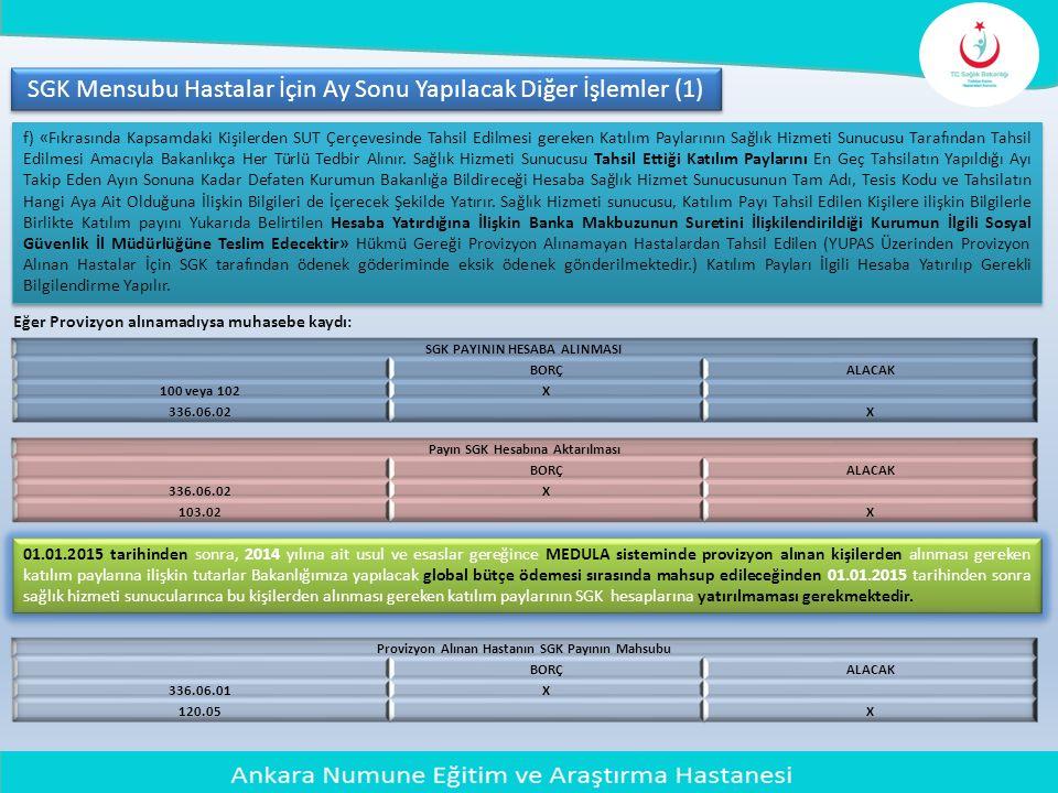 SGK Mensubu Hastalar İçin Ay Sonu Yapılacak Diğer İşlemler (1)