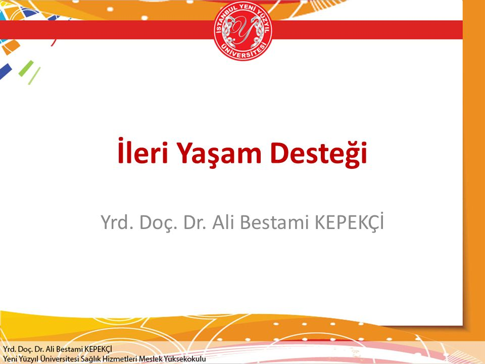 Yrd. Doç. Dr. Ali Bestami KEPEKÇİ