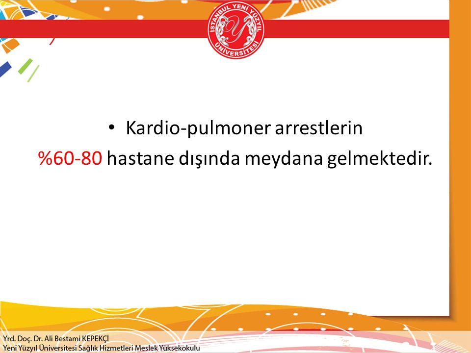 Kardio-pulmoner arrestlerin