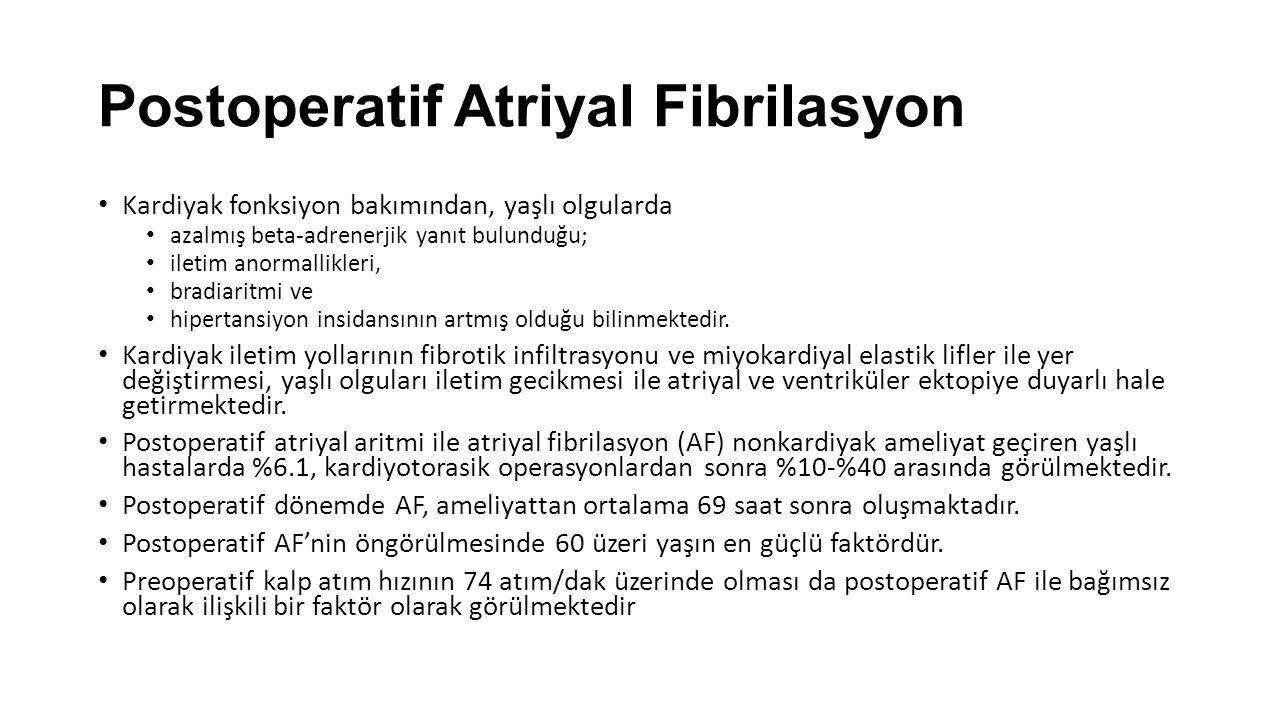 Postoperatif Atriyal Fibrilasyon