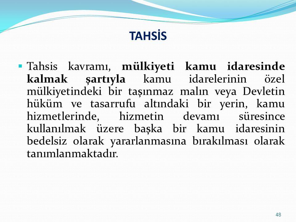 TAHSİS