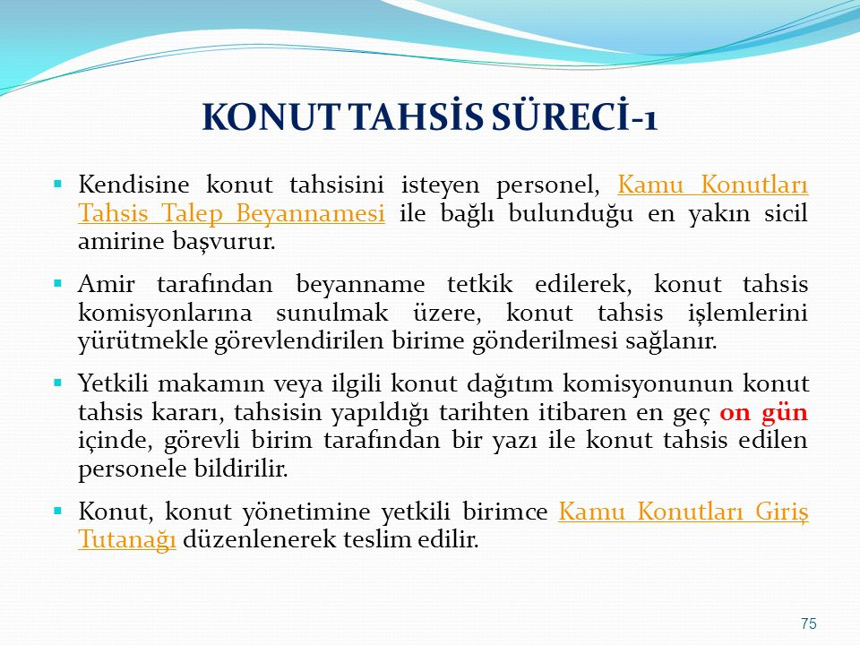 KONUT TAHSİS SÜRECİ-1