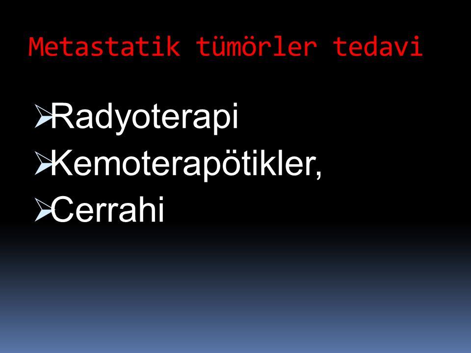 Metastatik tümörler tedavi