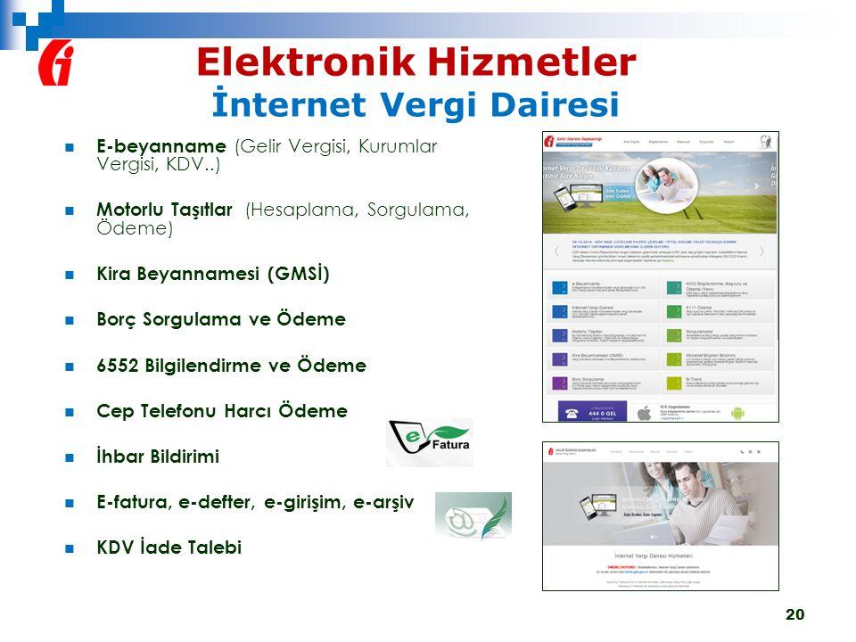 Elektronik Hizmetler İnternet Vergi Dairesi