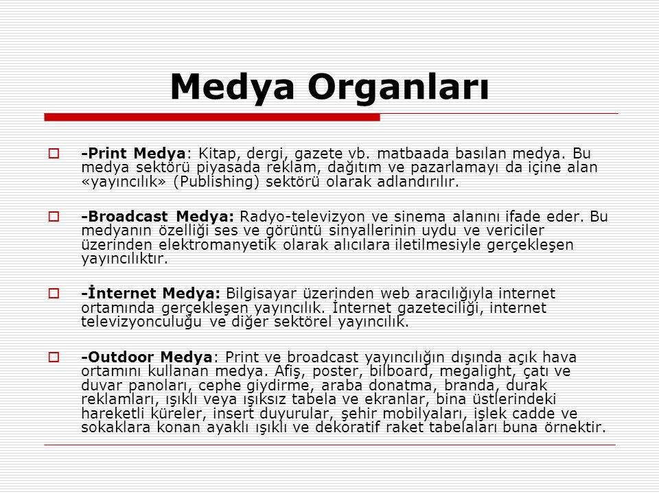 Medya Organları