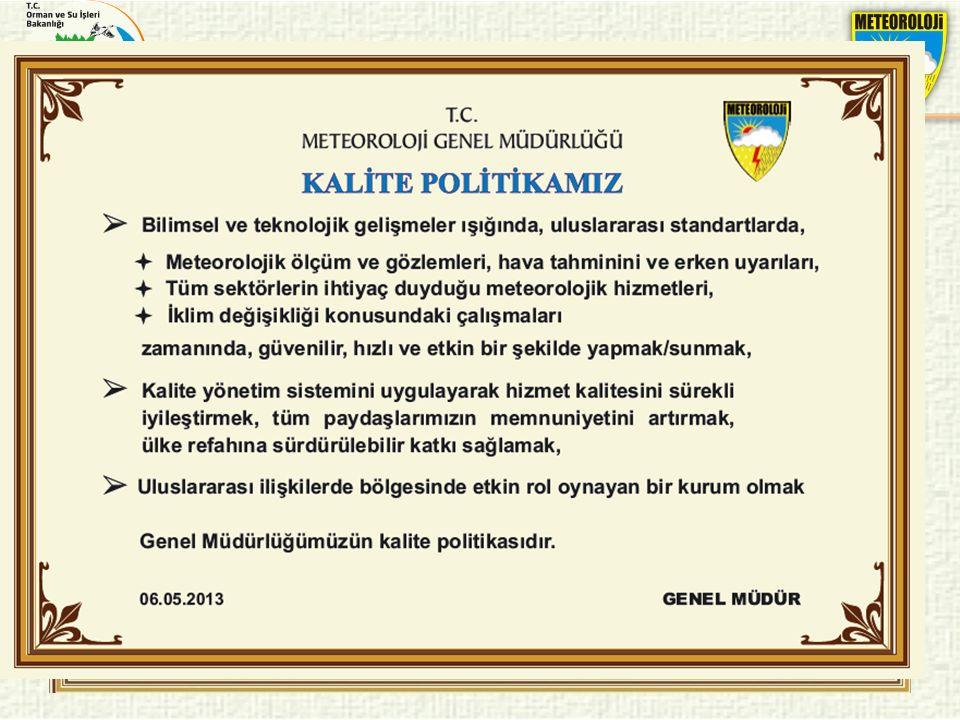 Kalite politikası 56