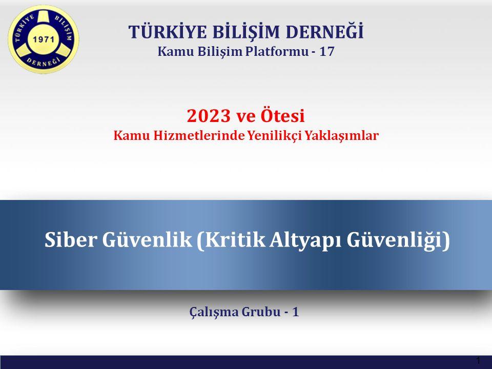TÜRKİYE BİLİŞİM DERNEĞİ Kamu Bilişim Platformu - 17