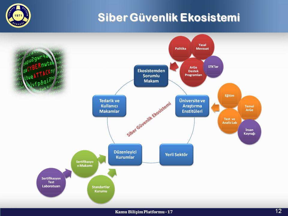 Siber Güvenlik Ekosistemi