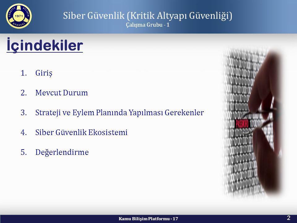Siber Güvenlik (Kritik Altyapı Güvenliği)