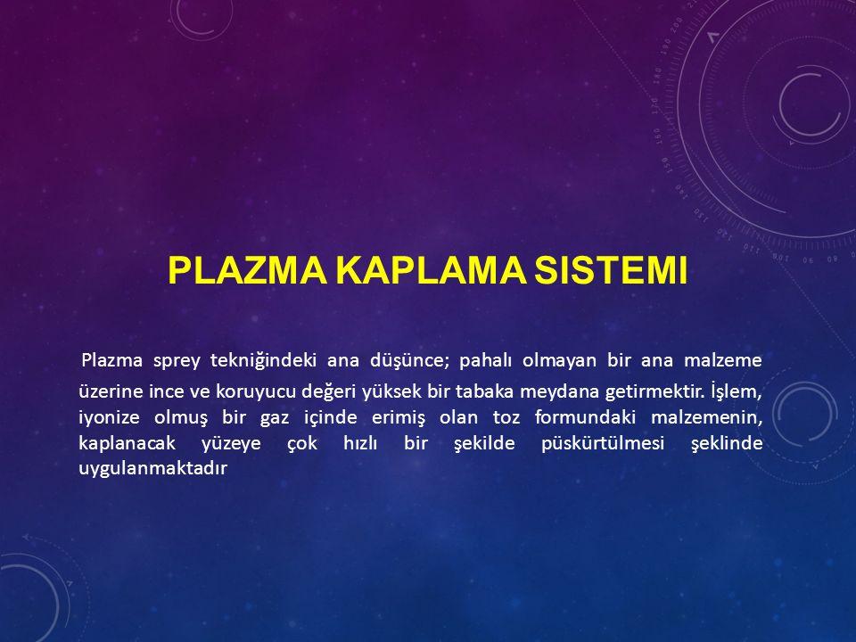 Plazma Kaplama Sistemi