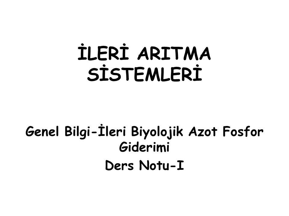 İLERİ ARITMA SİSTEMLERİ