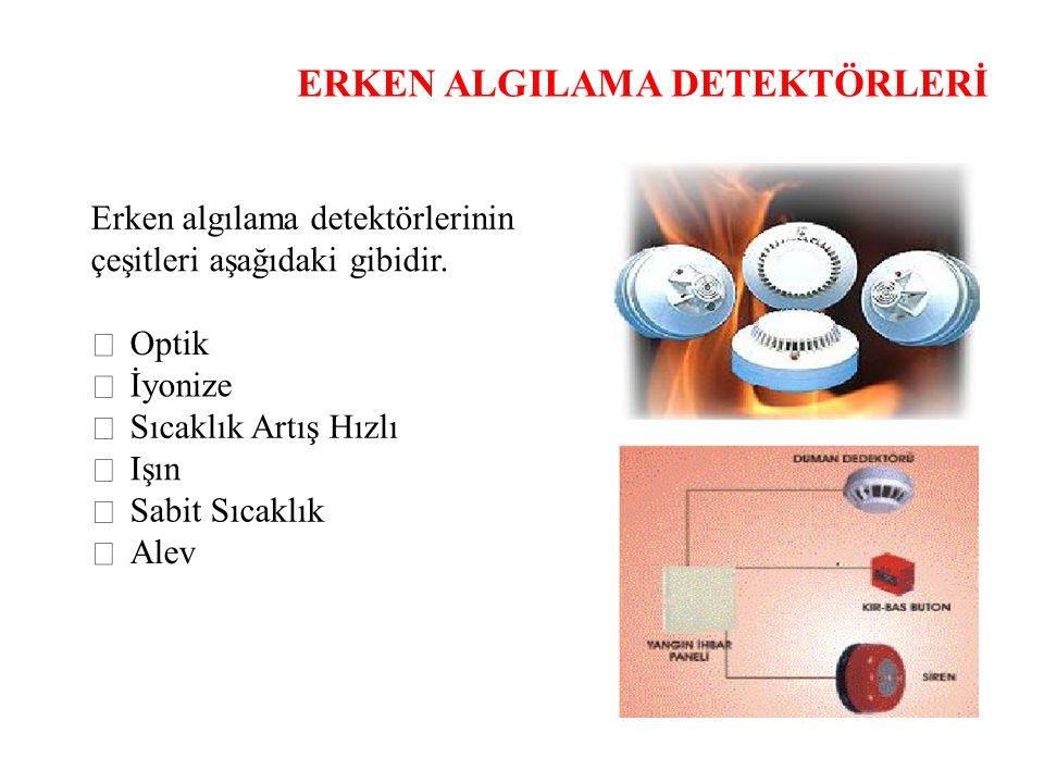 ERKEN ALGILAMA DETEKTÖRLERİ