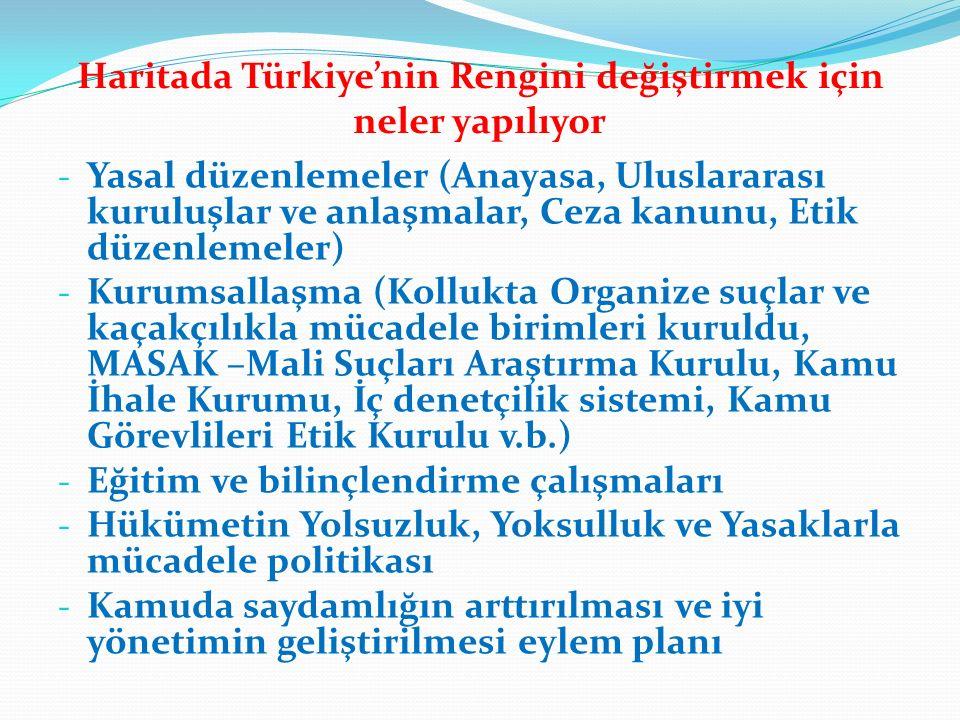 Haritada Türkiye'nin Rengini değiştirmek için neler yapılıyor