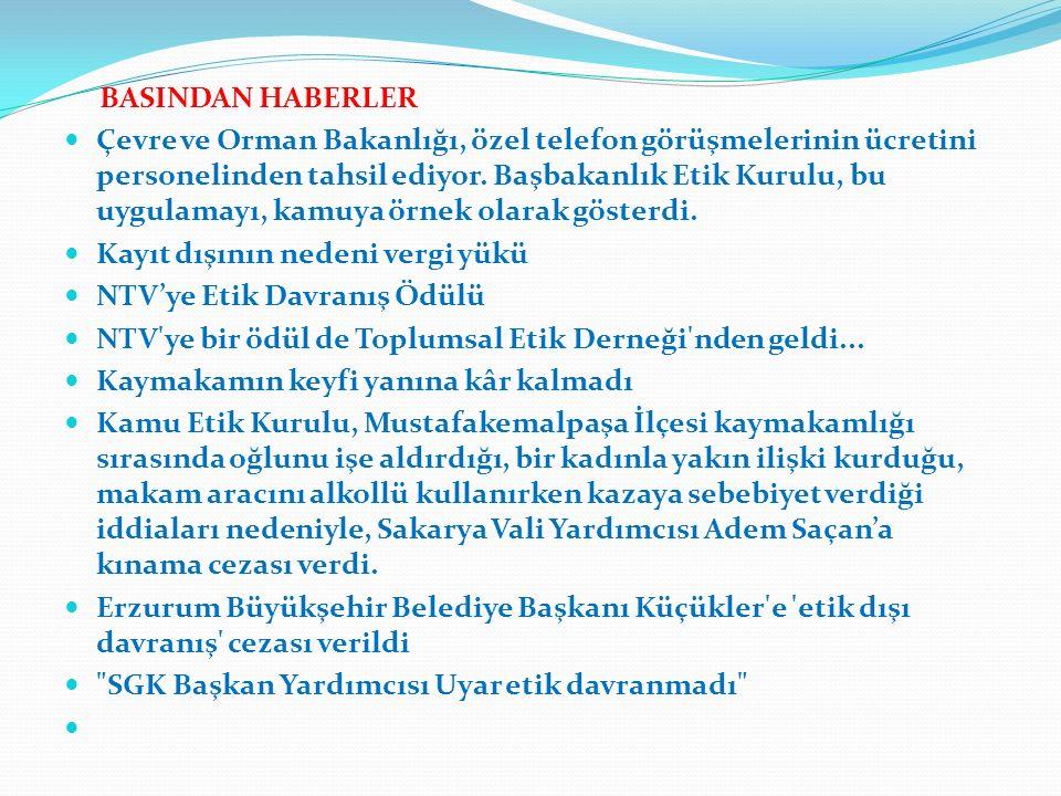 BASINDAN HABERLER