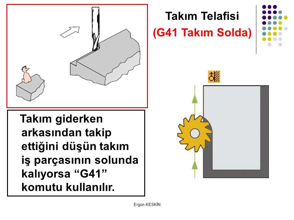 Takım Telafisi (G41 Takım Solda)