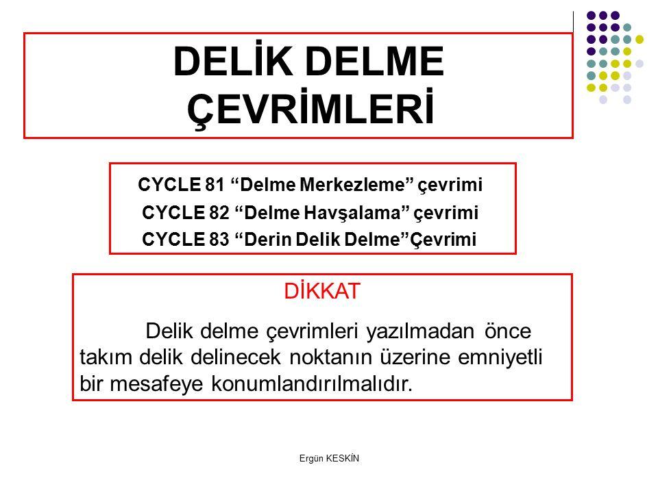 DELİK DELME ÇEVRİMLERİ