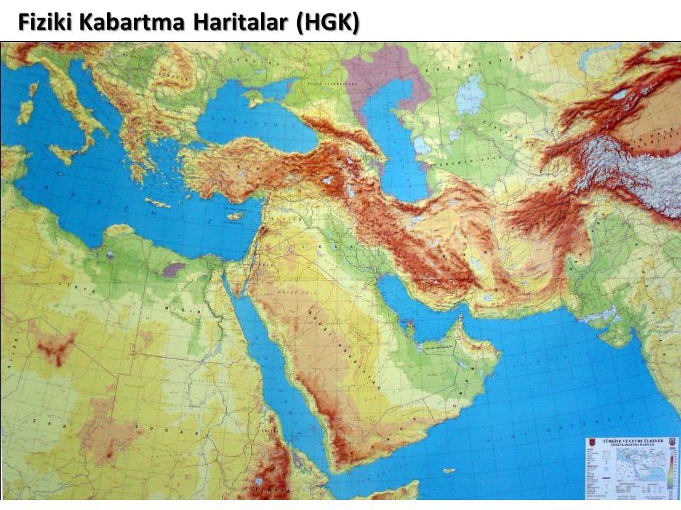 Fiziki Kabartma Haritalar (HGK)