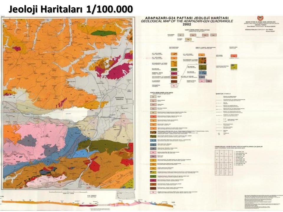 Jeoloji Haritaları 1/100.000