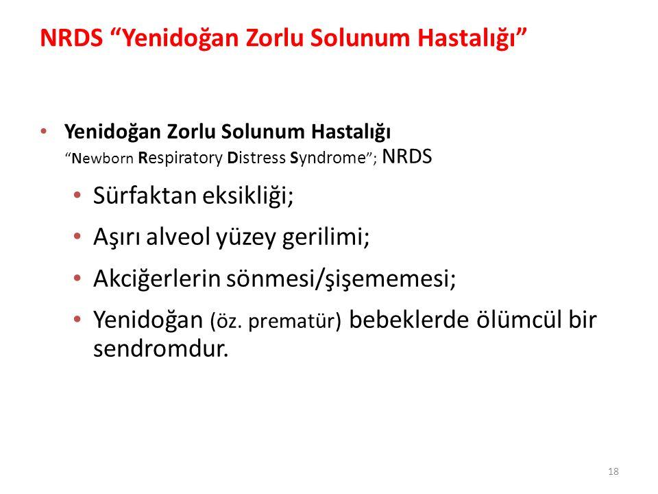 NRDS Yenidoğan Zorlu Solunum Hastalığı