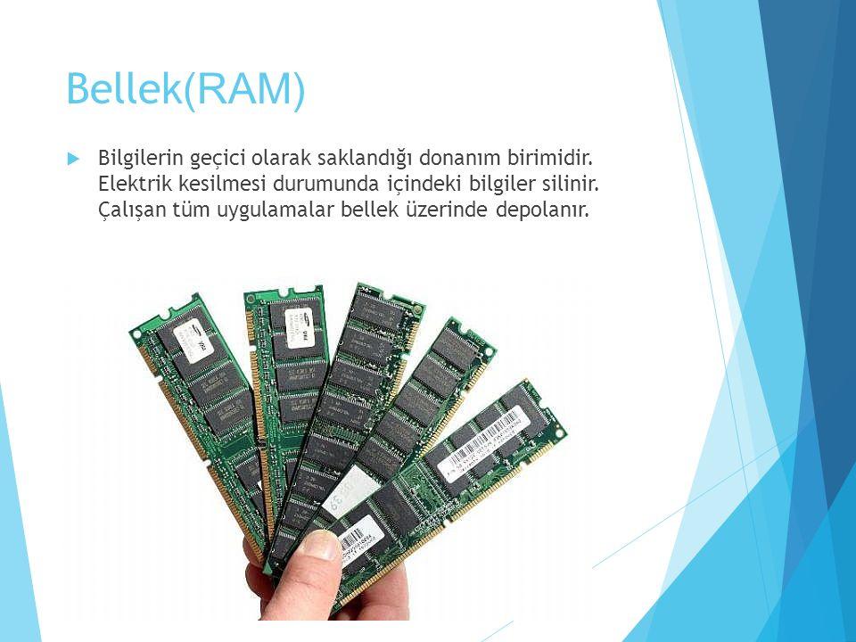 Bellek(RAM)
