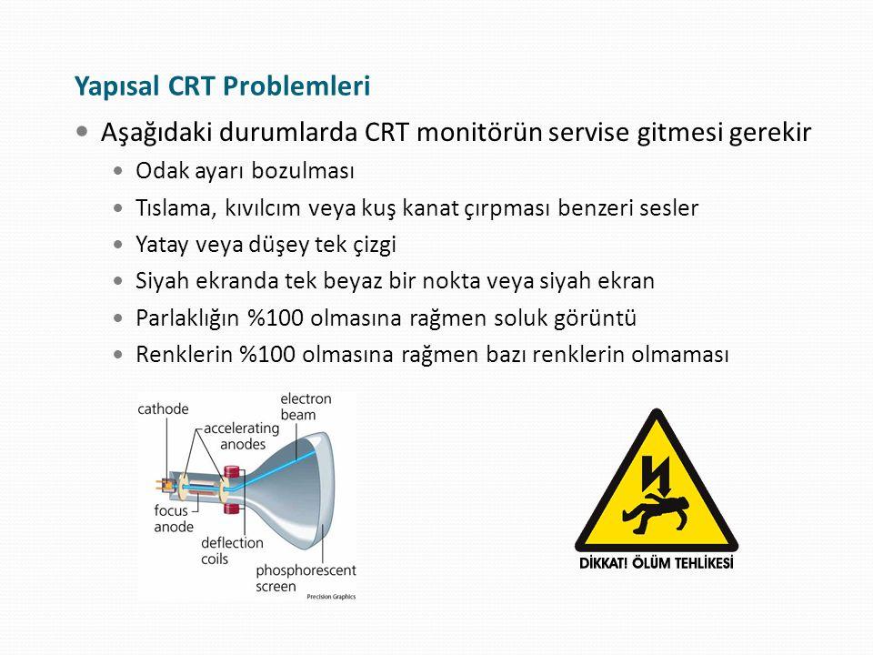 Yapısal CRT Problemleri