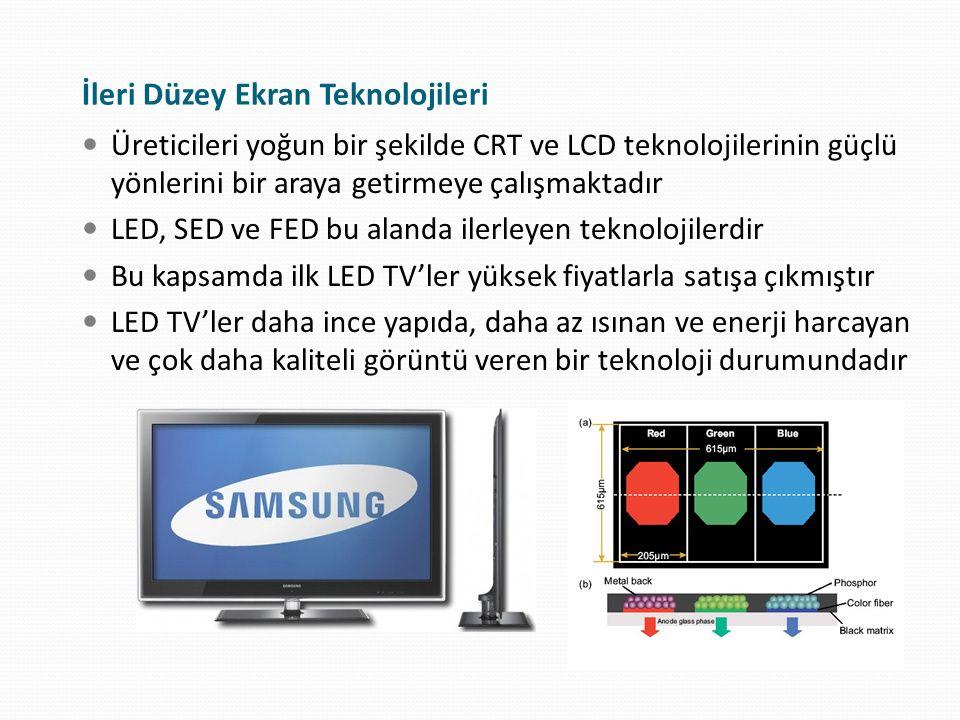 İleri Düzey Ekran Teknolojileri