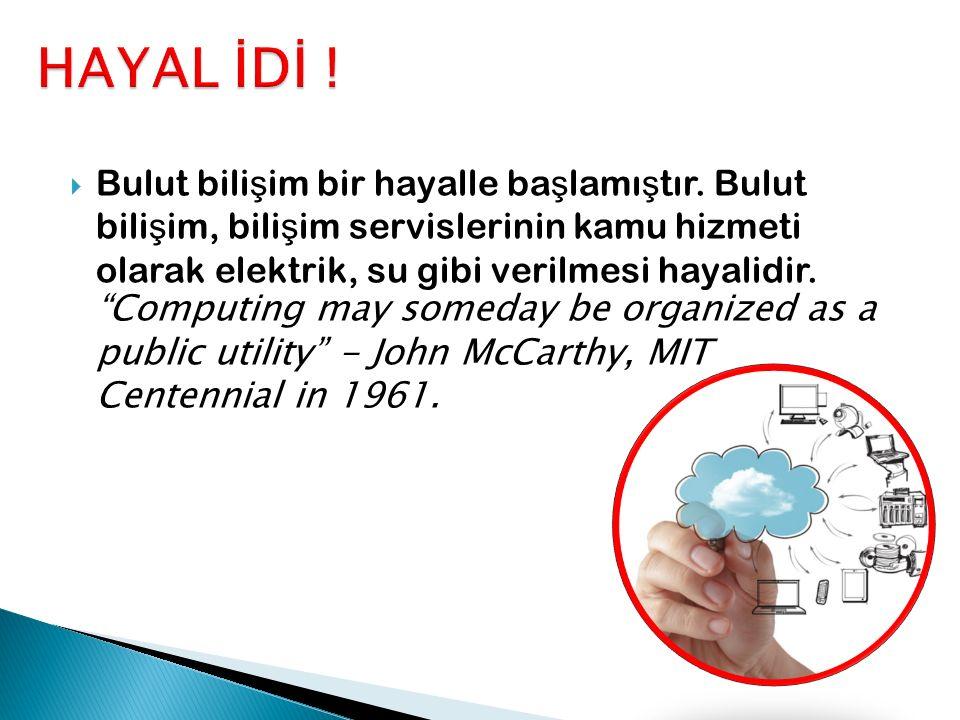 HAYAL İDİ !
