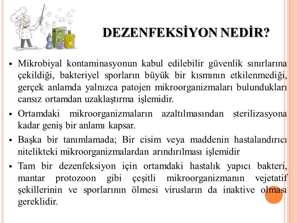 DEZENFEKSİYON NEDİR