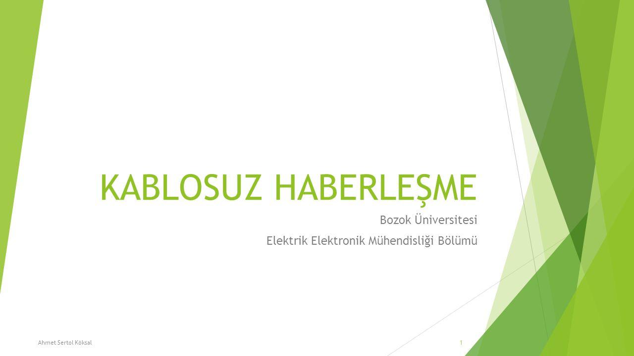 Bozok Üniversitesi Elektrik Elektronik Mühendisliği Bölümü