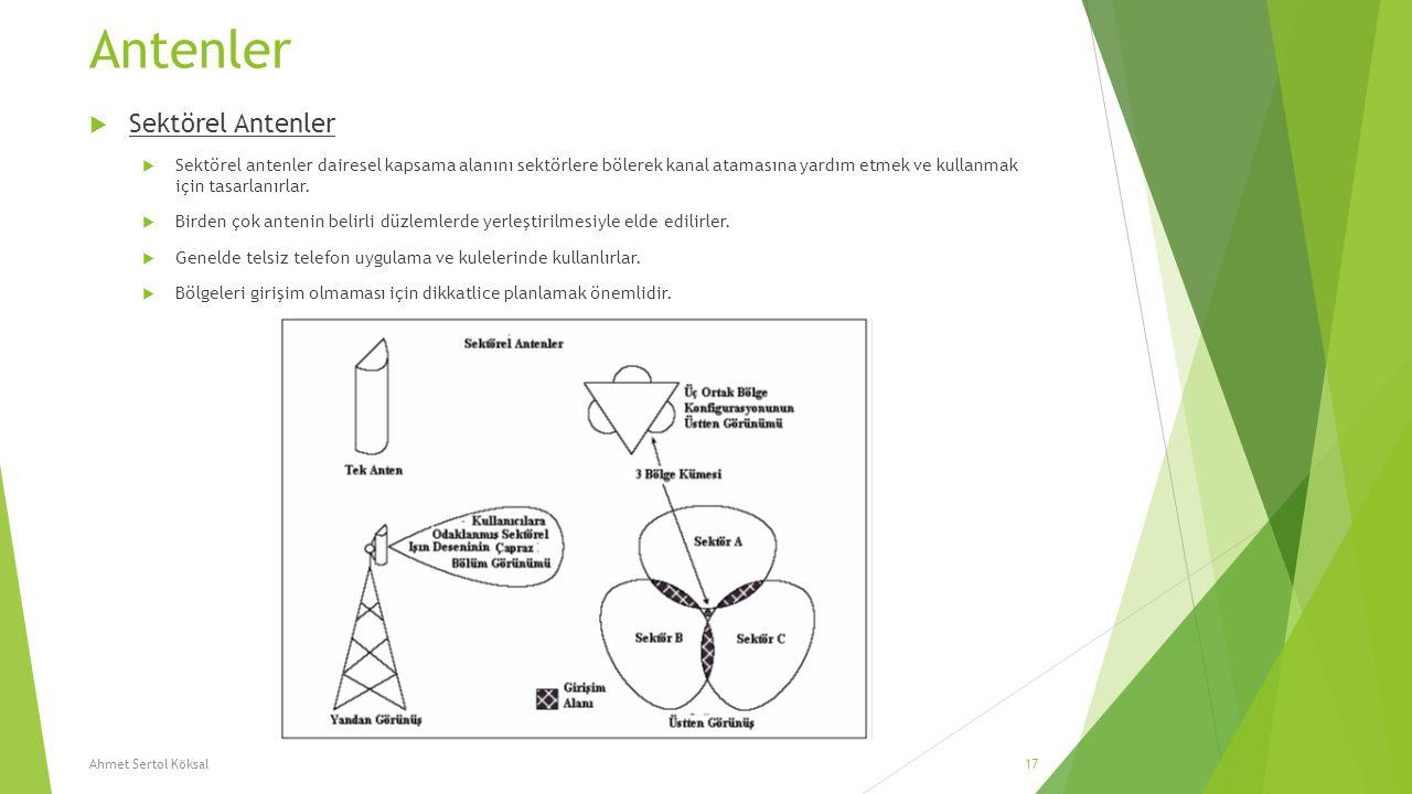 Antenler Sektörel Antenler
