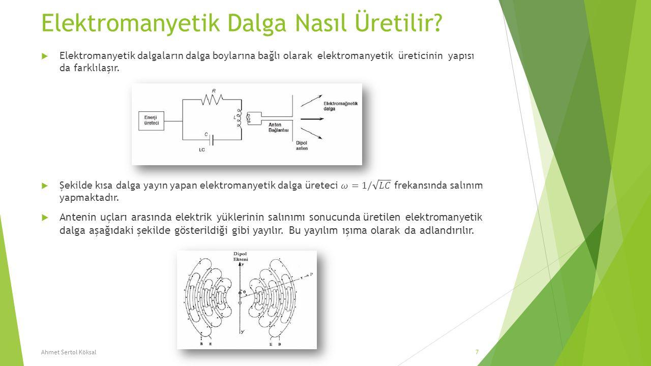 Elektromanyetik Dalga Nasıl Üretilir