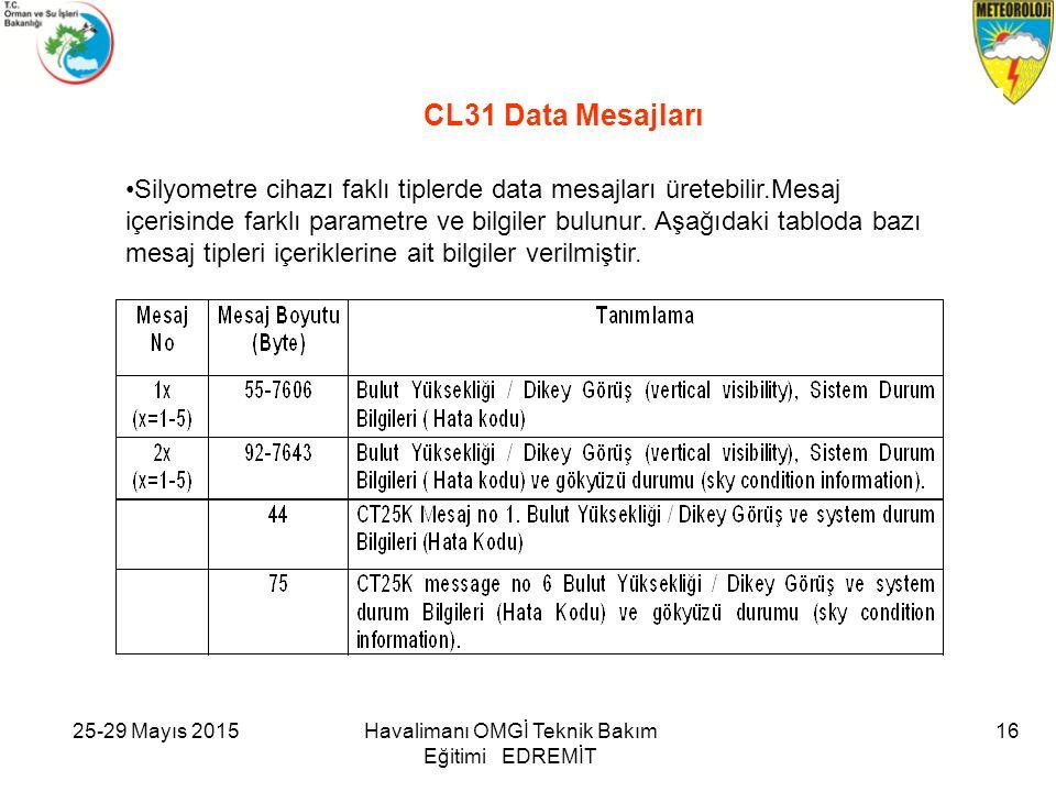 CL31 Data Mesajları